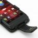 Motorola Razr i Leather Flip Case genuine leather case by PDair