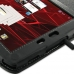 Motorola XOOM 2 Media Edition Leather Flip Carry Cover (Black) handmade leather case by PDair