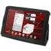 Motorola XOOM 2 Media Edition Leather Flip Carry Cover (Black) custom degsined carrying case by PDair