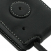 Motorola MOTO XT615 Leather Flip Case (Black) protective carrying case by PDair