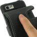 Motorola MOTO XT615 Leather Flip Case (Black) handmade leather case by PDair