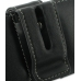 Motorola MOTO XT615 Leather Holster Case (Black) protective carrying case by PDair