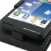 Motorola MOTO XT615 Leather Flip Top Case (Black) top quality leather case by PDair