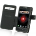 Motorola Droid Razr Maxx Leather Flip Cover custom degsined carrying case by PDair