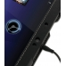 Motorola XOOM Leather Flip Carry Cover (Black) genuine leather case by PDair