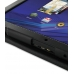 Motorola XOOM Leather Flip Carry Cover (Black) top quality leather case by PDair