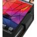 Motorola RAZR XT910 Leather Flip Case (Orange Stitch) genuine leather case by PDair