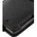 Motorola RAZR XT910 Leather Flip Case (Orange Stitch) top quality leather case by PDair