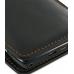 Motorola RAZR XT910 Pouch Case with Belt Clip (Orange Stitch) handmade leather case by PDair
