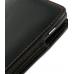 Motorola RAZR XT910 Pouch Case with Belt Clip (Orange Stitch) genuine leather case by PDair
