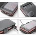 NEC MEDIAS LTE N-04D Leather Flip Cover (Black) protective carrying case by PDair