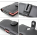 NEC MEDIAS LTE N-04D Leather Holster Case (Black) protective carrying case by PDair