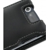 NEC MEDIAS N-04C Leather Flip Case (Black) protective carrying case by PDair