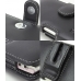 NEC MEDIAS N-06C Leather Holster Case (Black) protective carrying case by PDair
