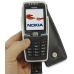 Nokia E70 Leather Flip Case (Black) genuine leather case by PDair