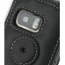 Nokia 5800 XpressMusic Leather Flip Case (Black) protective carrying case by PDair