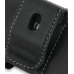 Nokia 6730 Classic Leather Holster Case (Black) protective carrying case by PDair