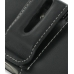Nokia E71 Leather Holster Case (Black) protective carrying case by PDair