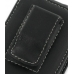 Nokia N77 Pouch Case with Belt Clip (Black) protective carrying case by PDair