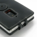 Nokia Lumia 830 Leather Flip Top Case protective carrying case by PDair