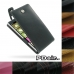 Nokia Lumia 830 Leather Flip Top Case protective stylish skin case by PDair