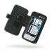 Nokia N800 Internet Tablet Leather Flip Cover (Black) handmade leather case by PDair