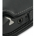 Nokia N800 Internet Tablet Leather Flip Cover (Black) genuine leather case by PDair