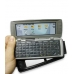 Nokia Communicator 9500 Leather Flip Case (Black) genuine leather case by PDair
