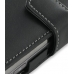 Nokia N97 Leather Flip Cover (Black) handmade leather case by PDair