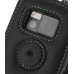 Nokia N97 Leather Flip Case (Black) protective carrying case by PDair