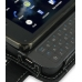 Nokia N900 Leather Flip Case (Black) handmade leather case by PDair