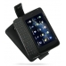 Nokia N900 Leather Flip Case (Black) custom degsined carrying case by PDair