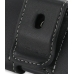 Nokia C5-03 Leather Holster Case (Black) protective carrying case by PDair