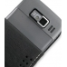 Nokia E52 Leather Flip Case (Black) top quality leather case by PDair