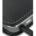 Nokia E52 Leather Sleeve Pouch Case (Black) protective carrying case by PDair