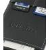 Nokia E61 E62 Leather Flip Case (Black) genuine leather case by PDair