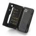 Nokia E90 Communicator Leather Flip Cover custom degsined carrying case by PDair