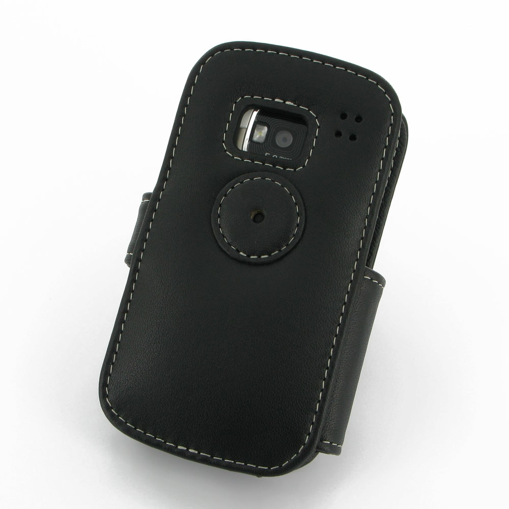 low priced 13361 53147 Nokia E5 Leather Flip Cover (Black) :: PDair Sleeve Pouch Holster