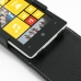 Nokia Lumia 525 Leather Flip Top Case genuine leather case by PDair
