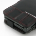 New Nintendo 3DS LL Leather Flip Cover (Red Stitch) genuine leather case by PDair