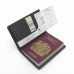 Travel Passport Leather Wallet Holder Case handmade leather case by PDair
