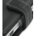 Palm Zire 72 Leather Flip Cover (Black) genuine leather case by PDair