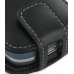 Palm Treo 800w Leather Flip Case (Black) handmade leather case by PDair