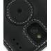 Sprint Palm Pixi Leather Flip Cover (Black) protective carrying case by PDair