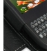 Sprint Palm Pixi Leather Flip Cover (Black) genuine leather case by PDair