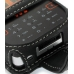 Sony Ericsson W950 Leather Flip Case (Black) genuine leather case by PDair