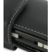 Sony Ericsson G900 G900i Leather Holster Case (Black) handmade leather case by PDair