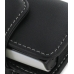 Sony Ericsson Xperia X10 Mini Leather Holster Case (Black) genuine leather case by PDair