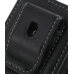 Sony Ericsson Xperia X10 Mini Pouch Case with Belt Clip (Black) protective carrying case by PDair