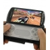 Sony Ericsson Xperia Play Leather Flip Cover (Black) custom degsined carrying case by PDair
